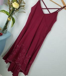 Effie's Heart ( Modcloth)magenta dress